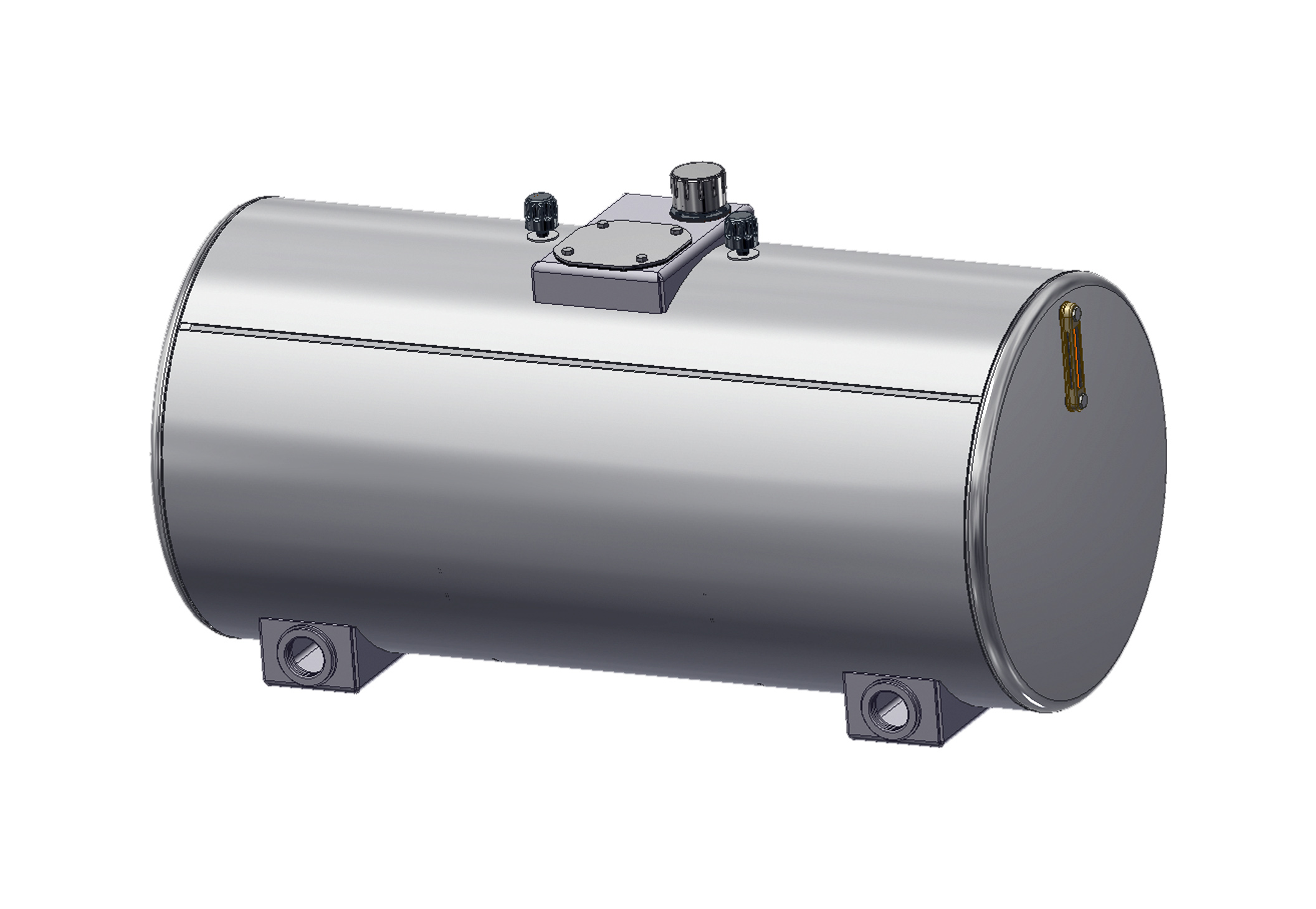 Saddlemount-Tanks - Aluminum-Saddlemount-100-Gallon